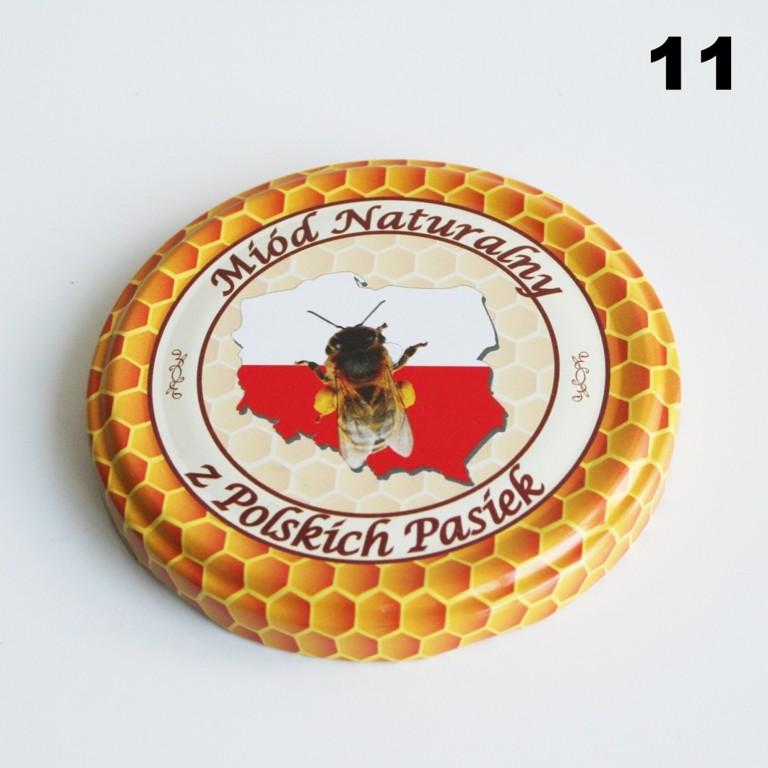Zakrętka Ø 82/6 Pszczoła nr. 11 - pakowane po 630/750 sztuk (cena za sztukę)