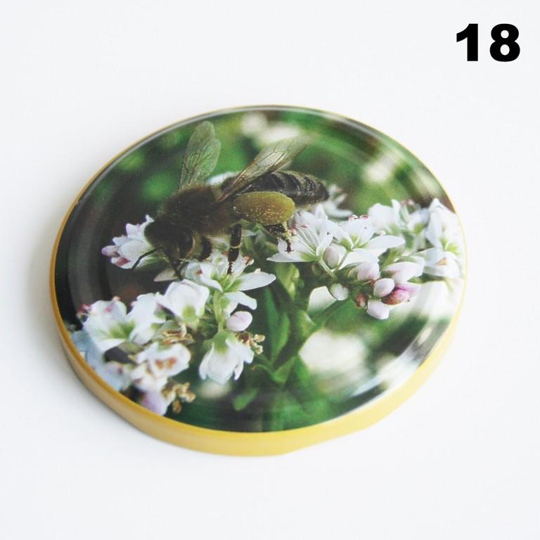 Zakrętka Ø 82/6 Pszczoła nr. 18 - pakowane po 630/750 sztuk (cena za sztukę)