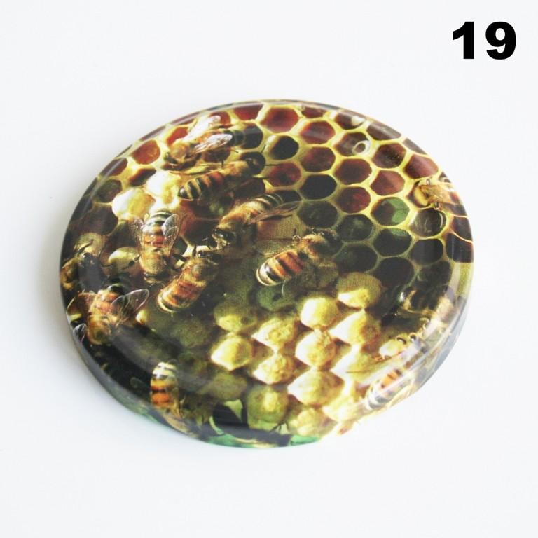 Zakrętka Ø 82/6 Pszczoła nr. 19 - pakowane po 630/750 sztuk (cena za sztukę)