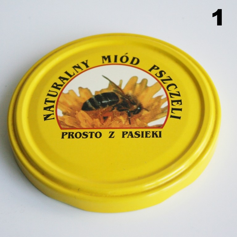 Zakrętka Ø 82/6 Pszczoła nr. 1 - pakowane po 630/750 sztuk (cena za sztukę)