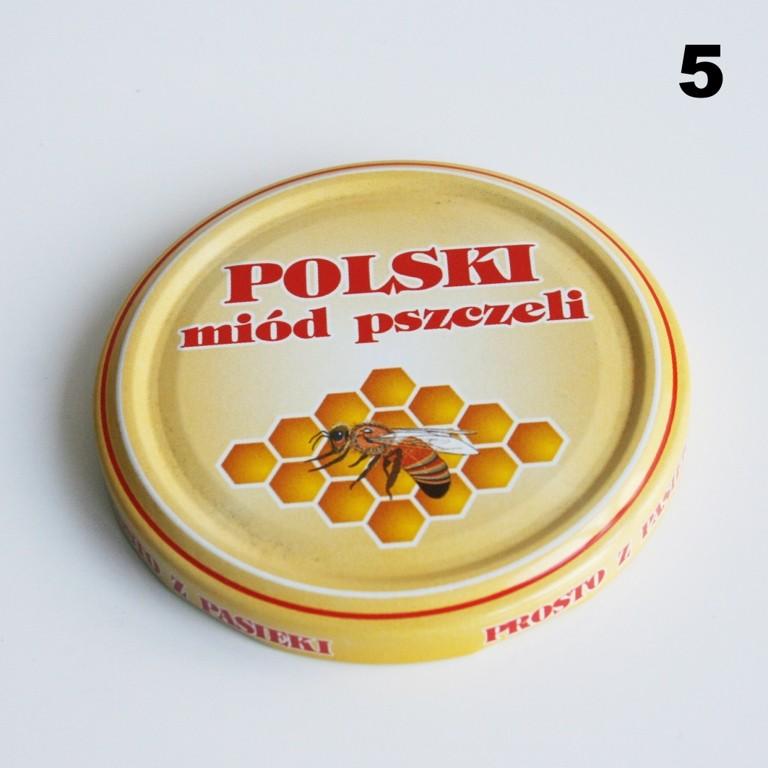 Zakrętka Ø 82/6 Pszczoła nr. 5 - pakowane po 630/750 sztuk (cena za sztukę)