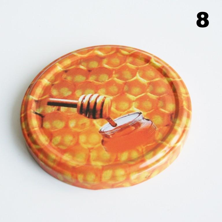 Zakrętka Ø 82/6 Pszczoła nr. 8 - pakowane po 630/750 sztuk (cena za sztukę)
