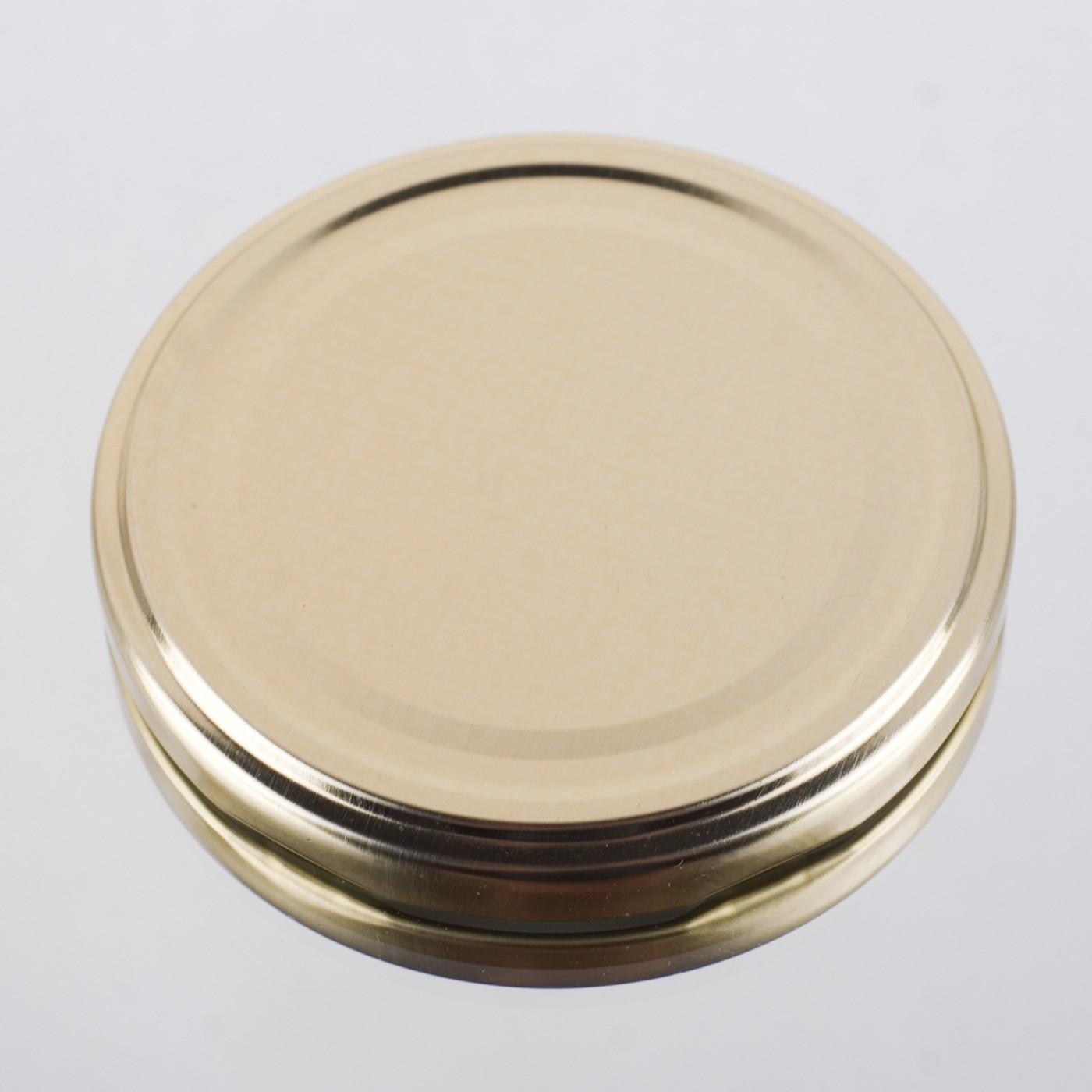 Zakrętka Ø 82/6 Złota - pakowane po 630/750 sztuk (cena za sztukę)