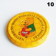Zakrętka Ø 82/6 Pszczoła nr. 10 - pakowane po 630/750 sztuk (cena za sztukę)