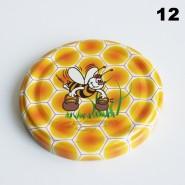 Zakrętka Ø 82/6 Pszczoła nr. 12 - pakowane po 630/750 sztuk (cena za sztukę)