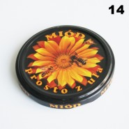 Zakrętka Ø 82/6 Pszczoła nr. 14 - pakowane po 630/750 sztuk (cena za sztukę)