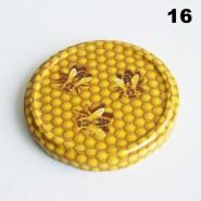 Zakrętka Ø 82/6 Pszczoła nr. 16 - pakowane po 630/750 sztuk (cena za sztukę)