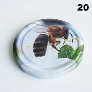Zakrętka Ø 82/6 Pszczoła nr. 20 - pakowane po 630/750 sztuk (cena za sztukę)