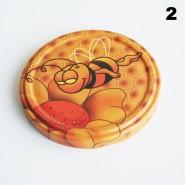 Zakrętka Ø 82/6 Pszczoła nr. 2 - pakowane po 630/750 sztuk (cena za sztukę)