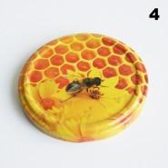 Zakrętka Ø 82/6 Pszczoła nr. 4 - pakowane po 630/750 sztuk (cena za sztukę)