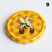 Zakrętka Ø 82/6 Pszczoła nr. 9 - pakowane po 630/750 sztuk (cena za sztukę)